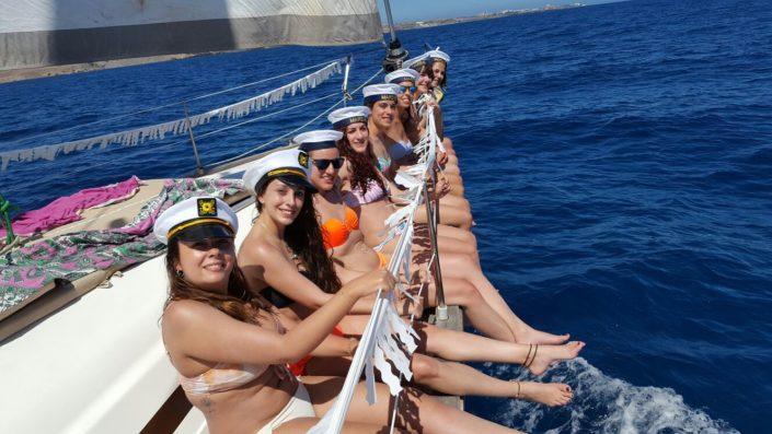 alquiler de velero para eventos