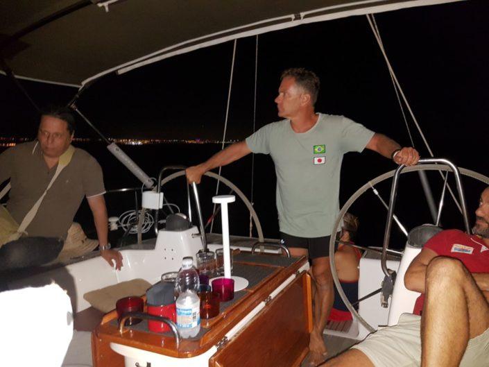 Velada nocturas a bordo del velero Vandross