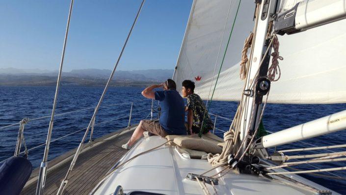 Ruta en velero Gran Canaria