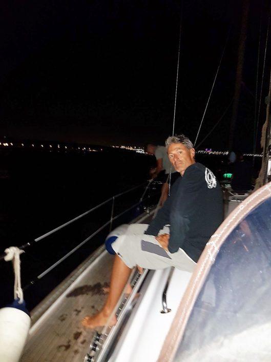 Velada nocturna en velero gran canaria