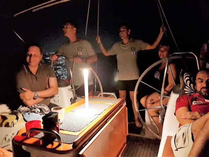 Excursión nocturna en velero Gran Canaria